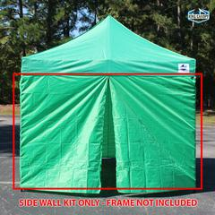 Universal Instant 10x10 - 4 Pack Side Walls Green