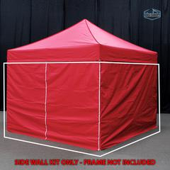 Universal Instant 10x10 - 4 Pack Side Walls Red