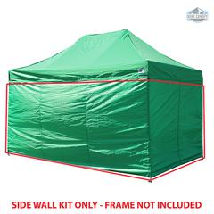 Universal Instant 10x15 - 4 Pack Side Walls Green