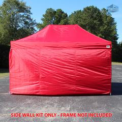 Universal Instant 10x15 - 4 Pack Side Walls Red