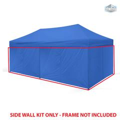 Universal Instant 10x20 - 6 Pack Side Walls Blue
