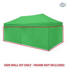 Universal Instant 10x20 - 6 Pack Side Walls Green