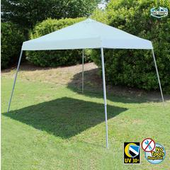 10X10 SLANTLEG Instant Pop Up Tent w/ WHITE Cover