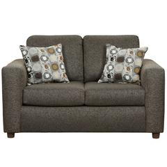 Flash Furniture Exceptional Designs by Flash Vivid Onyx Fabric Loveseat
