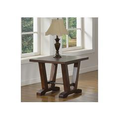 Hazelnut End Table