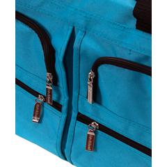 "22"" Rolling Duffle Bag, Turquoise"