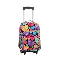 "17"" Rolling Backpack, Newheart"
