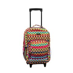 "17"" Rolling Backpack, Tribal"