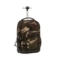 "19"" Rolling Backpack, Camo"