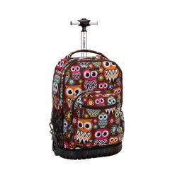 "19"" Rolling Backpack, Owl"