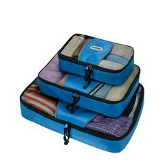 Packing Cubes - Set Of 3, Blue