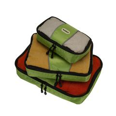 Packing Cubes - Set Of 3, Lime