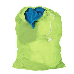Honey Can Do 2-Pk, Mesh Laundry Bag, 24 X 36Neon Green, Light Lime Green