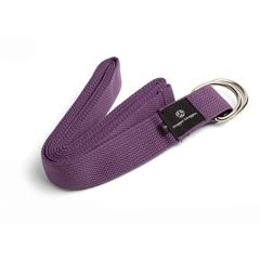 6' Cotton Strap w/ D Ring - Purple