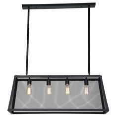 Element Industrial Mesh Ceiling Light