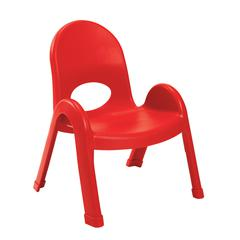 "Value Stack™ 9"" Chair - Candy Apple Red"