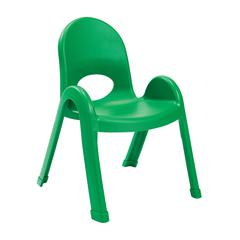 "Value Stack™ 11"" Chair - Shamrock Green"