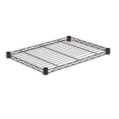 Steel Shelf- 250 Lbs Black 18X24