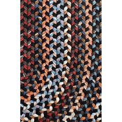 "Rhody Rug Astoria Black Rock 18"" x 36"" Slice"