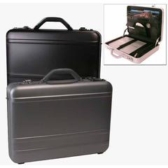 "Bond Street Tech-Rite Slim 4"" Aluminum Laptop Attache"