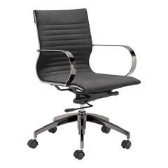 Kano Office Chair Gray Velvet