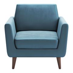 Mirabelle Arm Chair Teal Velvet