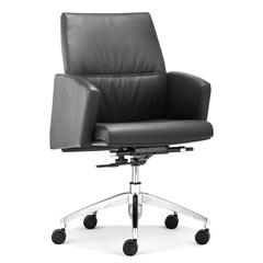 ZuoMod Chieftain Low Back Office Chair Black