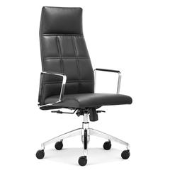 ZuoMod Controller High Back Office Chair Black