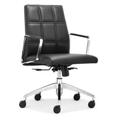 ZuoMod Controller Low Back Office Chair Black