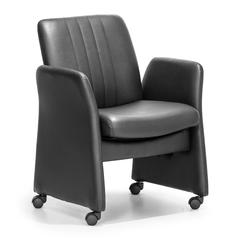 ZuoMod Colonel Conference Chair Black