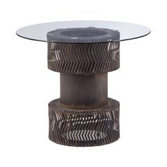 ZuoMod Rock n Roll Dining Table Rustic Black