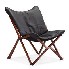ZuoMod Draper Lounge Chair Black