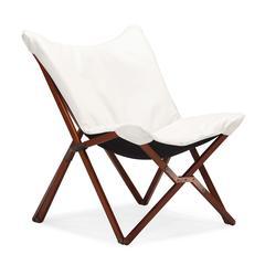 ZuoMod Draper Lounge Chair White