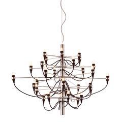 ZuoMod Bradyon Ceiling Lamp Chrome