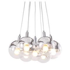 ZuoMod Time Ceiling Lamp Chrome