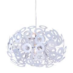 ZuoMod Phaser Ceiling Lamp Aluminum
