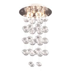 ZuoMod Vector Ceiling Lamp Clear