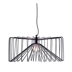 ZuoMod Foehn Ceiling Lamp Black