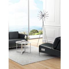 Savoy Floor Lamp Chrome