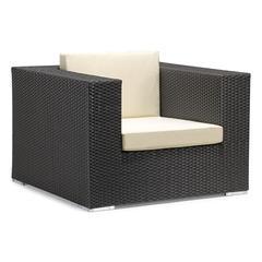 ZuoMod Cartagena Arm Chair Espresso