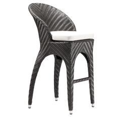ZuoMod Corona Bar Chair Espresso