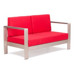 ZuoMod Cosmopolitan Sofa Cushions Red