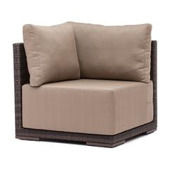 ZuoMod Park Island Corner Chair Brown