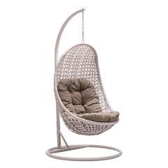 ZuoMod Sheko Cradle Chair Pearl