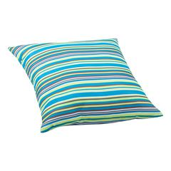 ZuoMod Puppy Large Outdoor Pillow Multicolor stripe