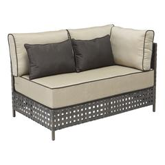 ZuoMod Pinery Long Left Corner Chaise Beige
