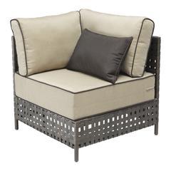 ZuoMod Pinery Corner Chair Beige
