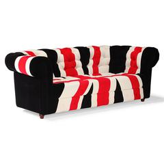 ZuoMod Union Jack Sofa Red, White & Black