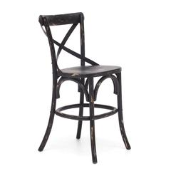 ZuoMod Union Square Counter Chair Antique Black