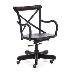 ZuoMod Union Square Office Chair Antique Black